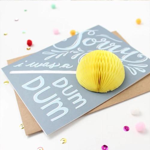Sorry I Was A Dum Dum Pop-up Greeting Card