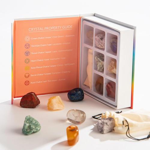 Chakra Crystals Stone Gift Pack