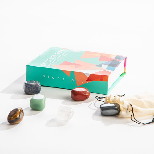 Discover Box:  Crystals Stone Gift Pack