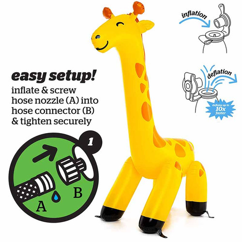 The Best Giant Giraffe Sprinkler Online