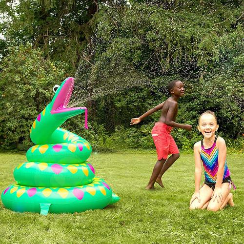 Giant Snake Yard Sprinkler