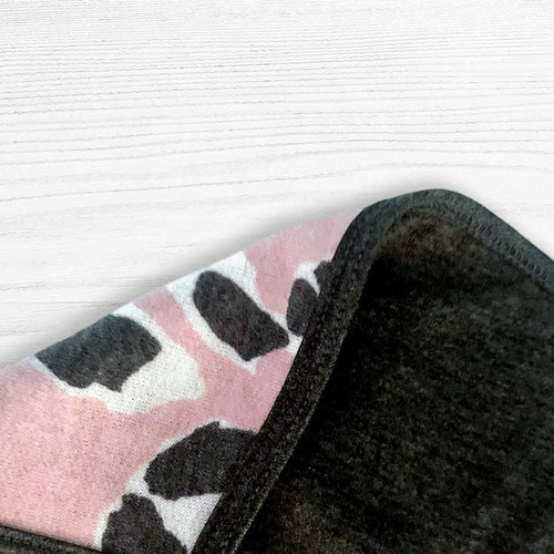 Soft Touch Pretty In Pink Leopard Face Mask - Punk
