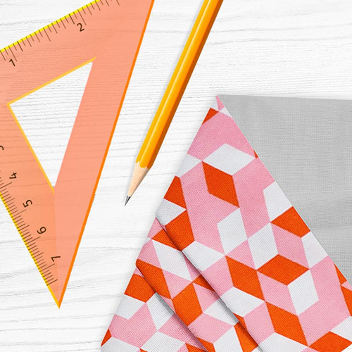 Face Mask Hip to Be Square Geometric Cube