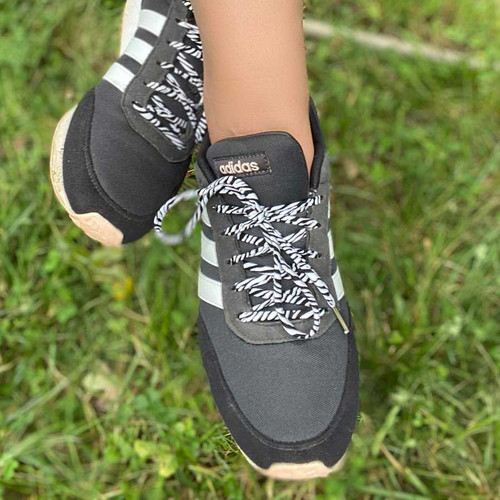 Zebra Print Shoelaces