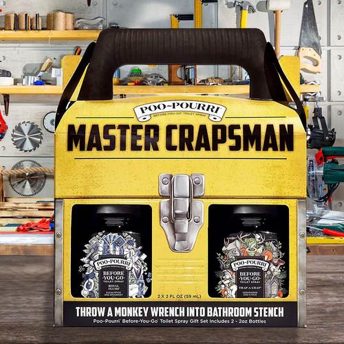 Master Crapsman Poo- Pourri Gift Set