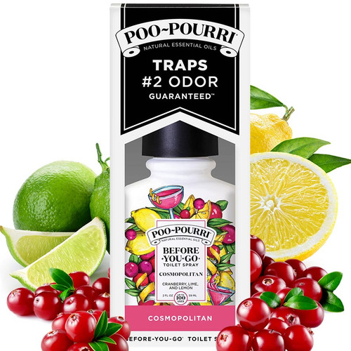 Cosmopolitan Poo-Pourri -Best Toilet + Bathroom Odor Spray
