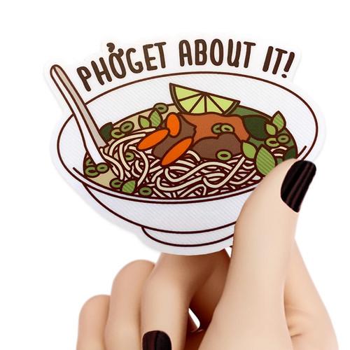 Phoget About It! Sticker
