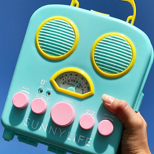 Retro Fun Portable Beach + Pool Speaker