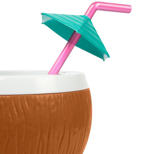 Great for your favorite tiki drink! Coconut Cocktail Sipper