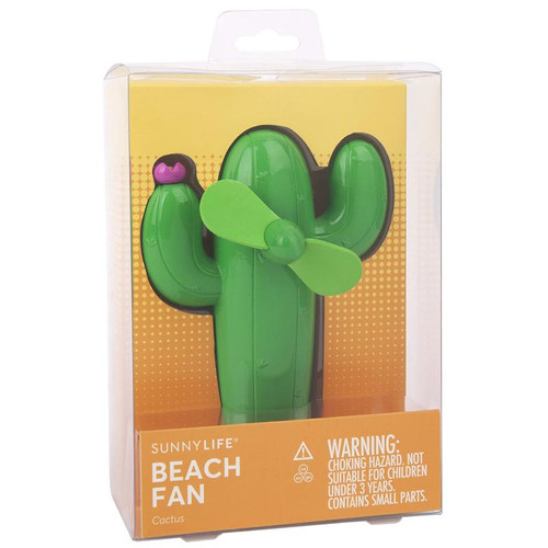 Portable Handheld  Beach Fan | Cactus by Sunny Life