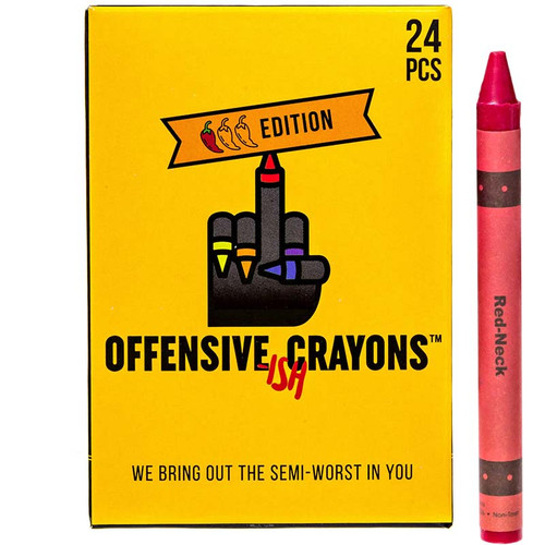 Offensive-ish Crayons - Crayons for Adults.