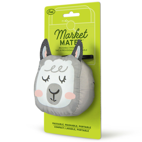 Llama Market Mate Foldable Bag by Fred and Friends