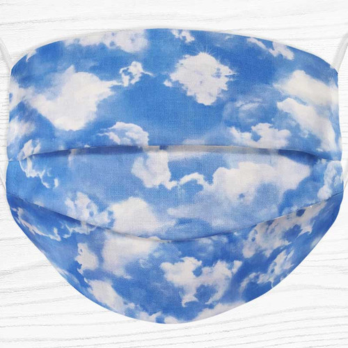 Made in America Cloud Face Mask