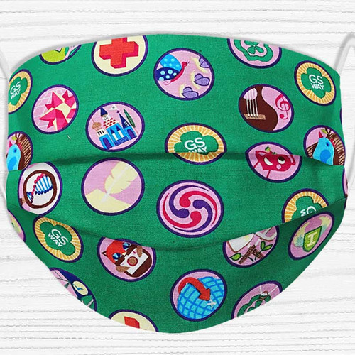 Girl Scout Badge Face Mask
