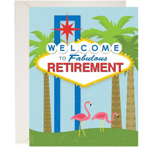 Welcome to Fab Retirement Card
