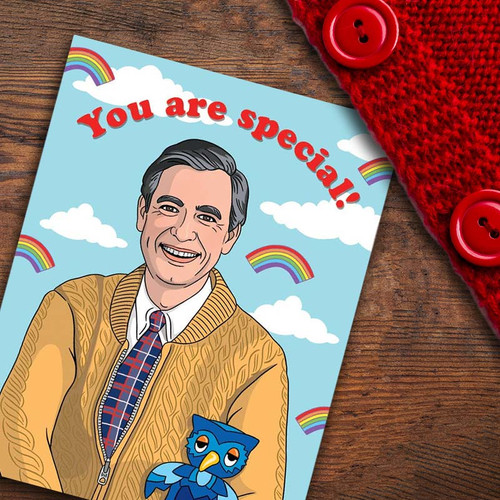 Greeting Card of Mister Rogers