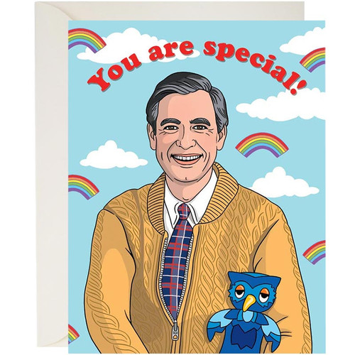 Mister Rogers You Are Special Card