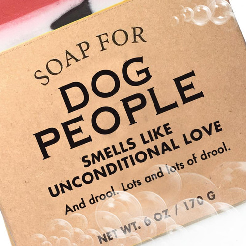 Dog Lover Gift - Soap For Dog People