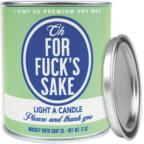 Oh, For Fuck's Sake Paint Can Candle