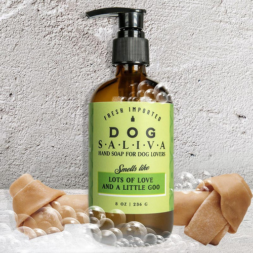 Whiskey River Dog Saliva Soap