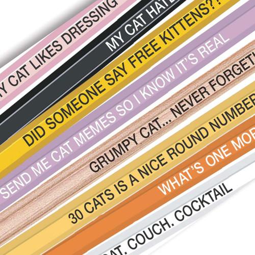 Cat Lady Gift -  Pencils