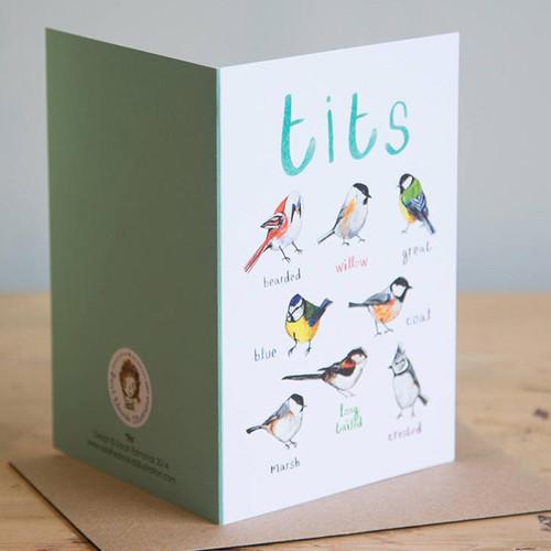 Bird Watcher Birthday Card