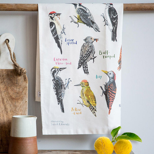 We swear this isn't dirty! Fowl Language Bird Dish Towel