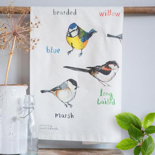 Tits - A Tit Bird Dish Towel
