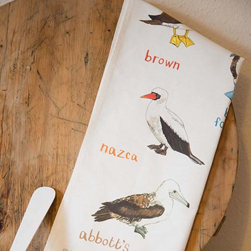 Fowl Language Dish Towel