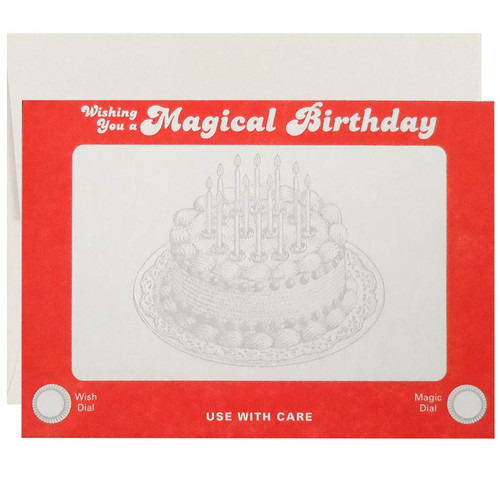 Etch A Sketch Birthday Card