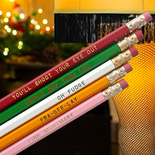Christmas Story Popular Quotes Pencils
