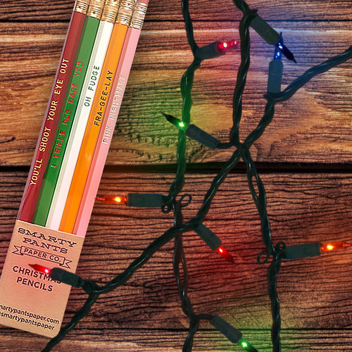 Christmas Story Stocking Stuffer Sayings Pencils