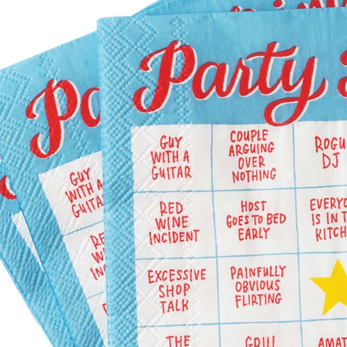 Party Bingo - Use bar nuts as marker chips!
