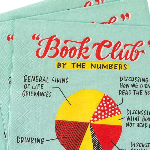 Breakdown of mom's book club