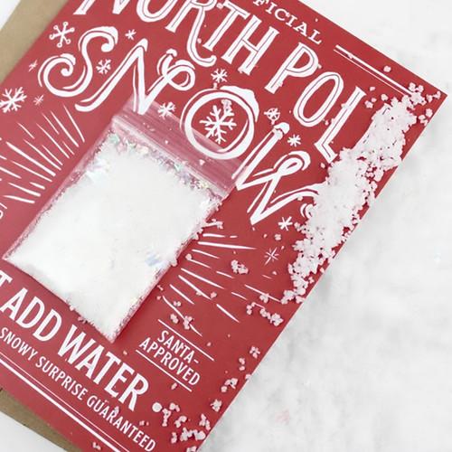 Snowball Christmas Card