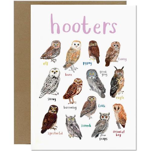 Hooters Greetings Card