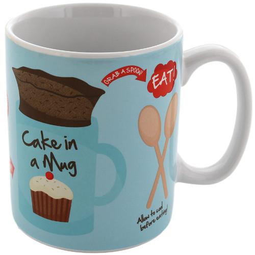 Baking A Microwave Cake Mug