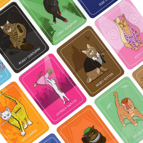 Pun Cat Card Game by Ginger Fox