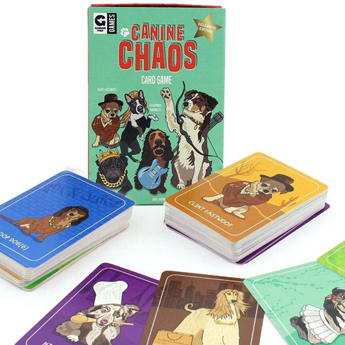 Canine Chaos Card Game by Ginger Fox