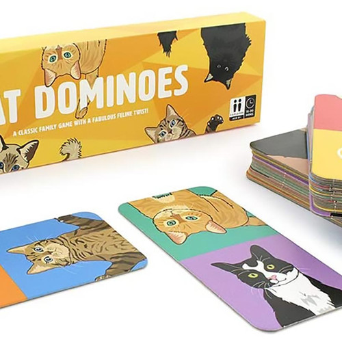 Play Cat Dominoes with your kids!