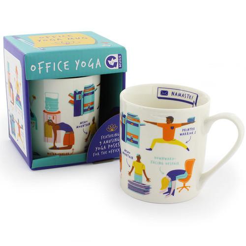 Ginger Fox Office Yoga Mug