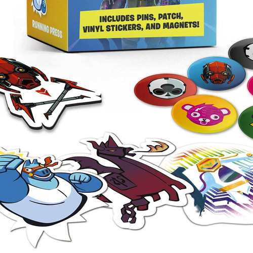 Fortnite Mini Loot Pack - Stickers, Magnets, Patch