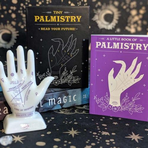 Mini Tiny Palmistry Palm Reading Book + Hand