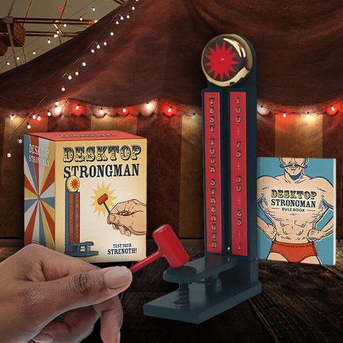 Carnival Strongman Hammer Toy