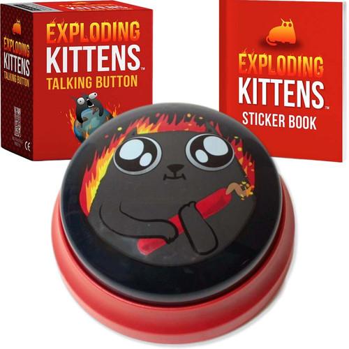 Exploding Kittens Game Talking Button
