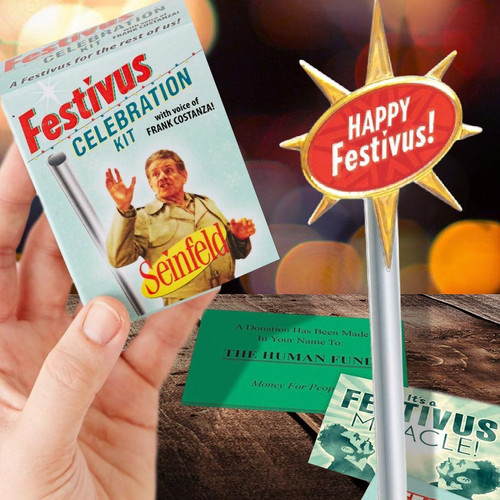 Happy Festivus Pole Seinfeld