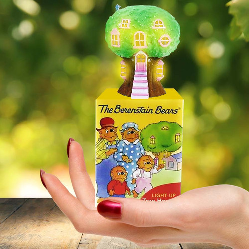 Berenstain Bears Light-Up Tree House makes a great stocking stuffer!