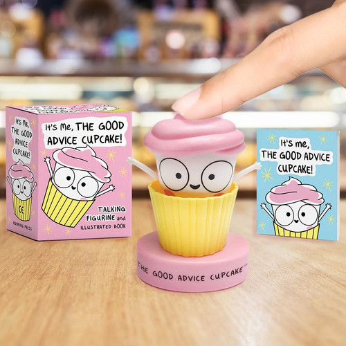 Cuppy! The Good Advice Talking Cupcake as seen on Buzzfeed!