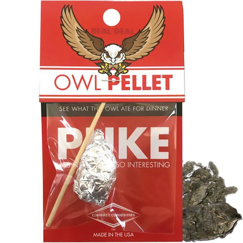 Owl Puke- See What the Owl Ate