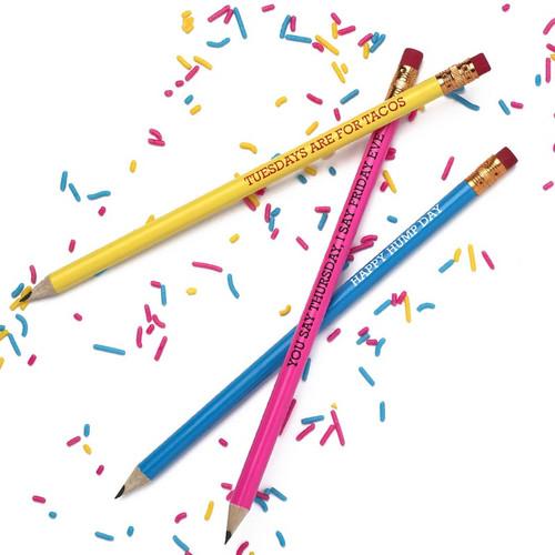 Hello Week Pencil Set